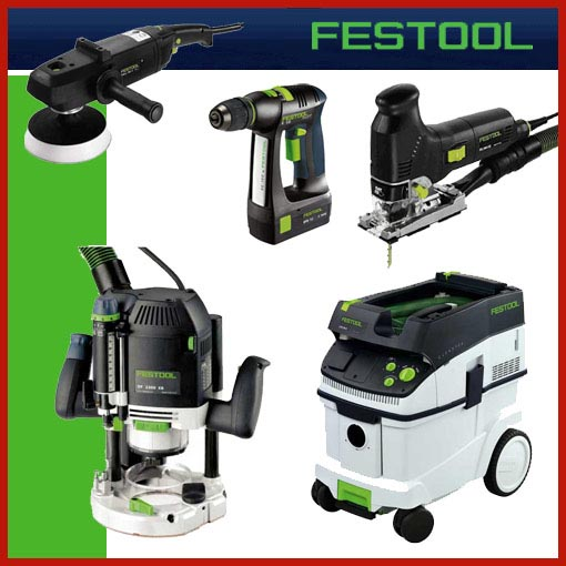 FESTOOL WERKZEUGE UND SAUGER