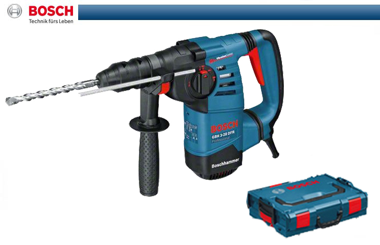 bosch bohrhammer gbh 3 28 dfr in lboxx bohrmaschine boschhammer blau 061124a004 ebay. Black Bedroom Furniture Sets. Home Design Ideas