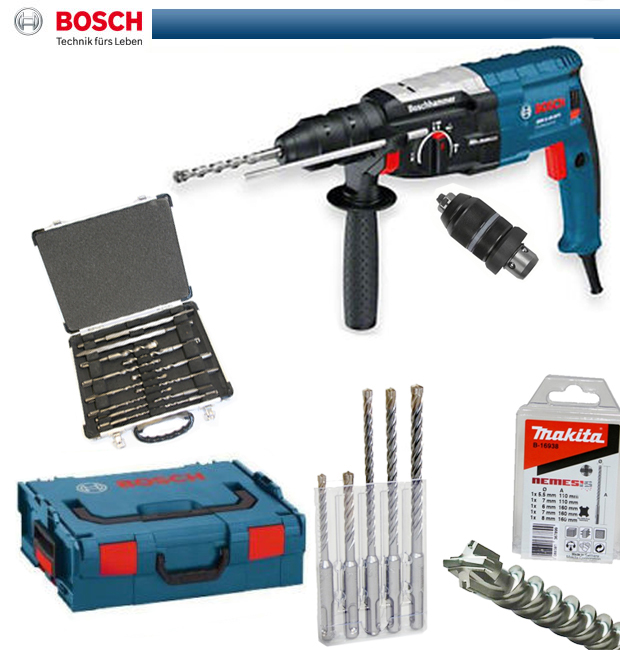 bosch bohrhammer gbh 2 28 dfv makita nemesis bohrer mei elset l boxx 0611267200. Black Bedroom Furniture Sets. Home Design Ideas