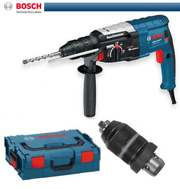 bosch bohrhammer gbh 2 28 dfv in lboxx bohrmaschine boschhammer 0611267201 l box ebay. Black Bedroom Furniture Sets. Home Design Ideas