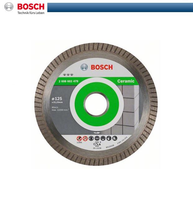 bosch diamant trennscheibe 125mm 125 mm best for ceramic. Black Bedroom Furniture Sets. Home Design Ideas