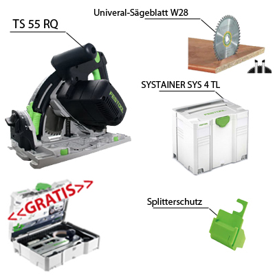 festool tauchs ge ts 55 r q r ebq plus fs gratis zubeh r systainer fs sys 2 rq ebay. Black Bedroom Furniture Sets. Home Design Ideas