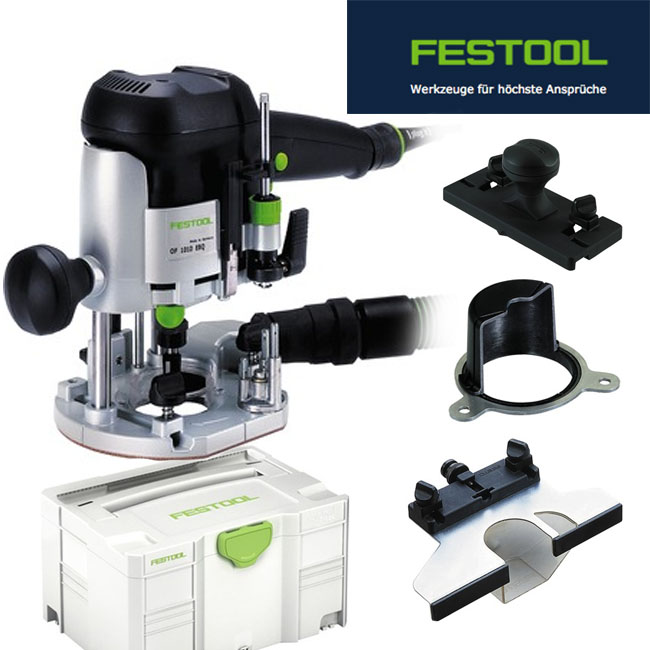 festo festool router of 1010 ebq plus many accessory ebay. Black Bedroom Furniture Sets. Home Design Ideas