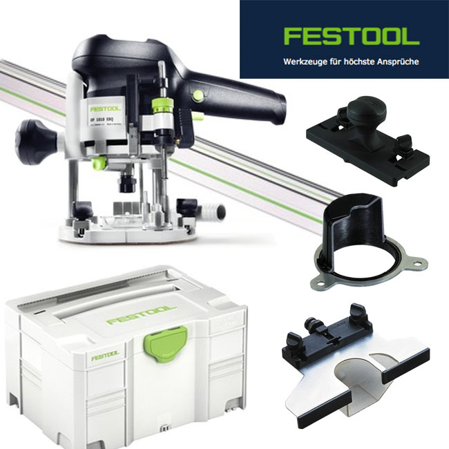 festool oberfr se of 1010 ebq set 574375 mit f hrungsschiene im systainer 3 ebay. Black Bedroom Furniture Sets. Home Design Ideas