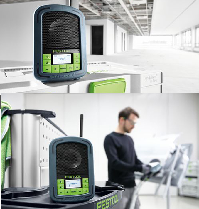 festool akku radio baustellenradio br10 br 10 sysrock 200183 bluetooth freispr ebay. Black Bedroom Furniture Sets. Home Design Ideas