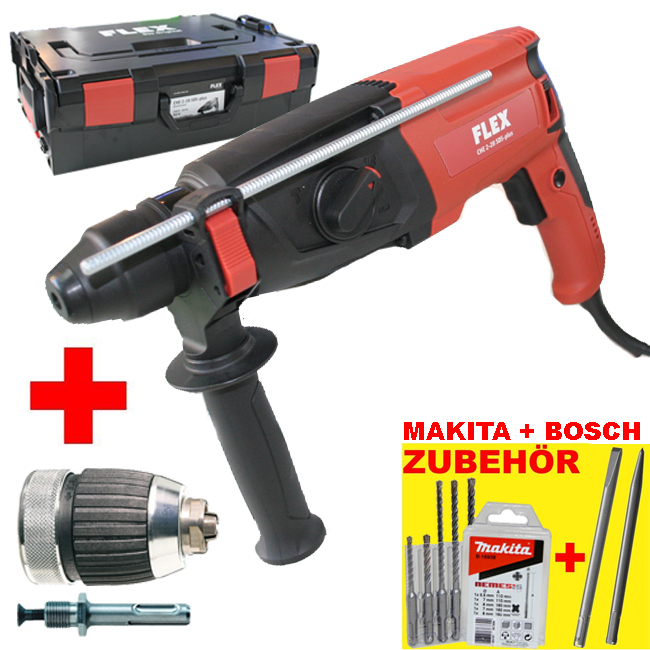 flex bohrhammer che 2 28 sds plus dfv makita bohrer bosch mei el ebay. Black Bedroom Furniture Sets. Home Design Ideas