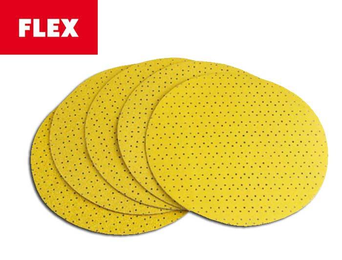 FLEX Klett Schleifpapier 225mm für Langhalsschleifer WST 700 gelb perforiert P80